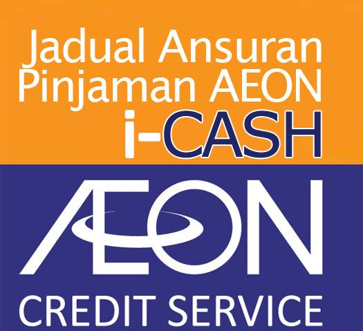 Jadual Pinjaman Peribadi Aeon Kredit Personal Loan